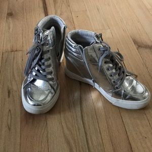 Women's Aldo Hightop Sneakers Size 6